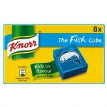 Knorr Fish 8 Stock Cubes 80g